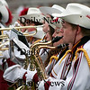 Newburyport: The Newburyport High School band performs a tribute to Michael Jackson at halftime of the annual Thanksgiving Day football game with Amesbury. Newburyport shut out the Indians 33-0. Photo by Ben Laing/Staff Photo