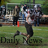West Newbury:  North Andover's Michael Weisman makes a one handed catch for 6  Sunday at Pentucket. Jim Vaiknoras/Staff photo