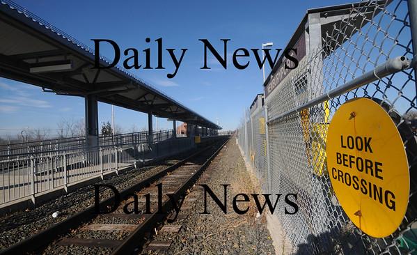 Newburyport: The Newburyport MBTA Station, the scene of a fatal accident Saturday night. Jim Vaiknoras/Staff photo