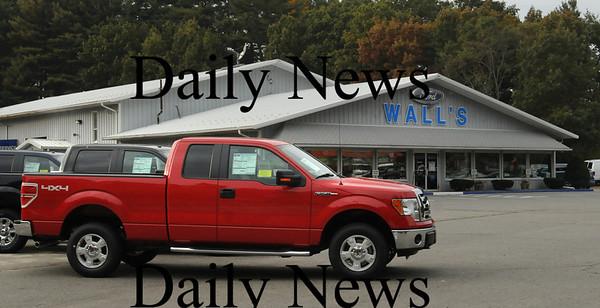 Salisbury: John Wall, Sr. is keeping his Wall's Ford in Salisbury open, but closing his Methuen location. Bryan Eaton/Staff Photo