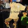 Newburyport: Thye jeanne Geiger Crisis Center entry in the scarecrow contest at the annual Newburyport Harvest Festival Sunday in Market Square. Jim Vaiknoras/Staff photo
