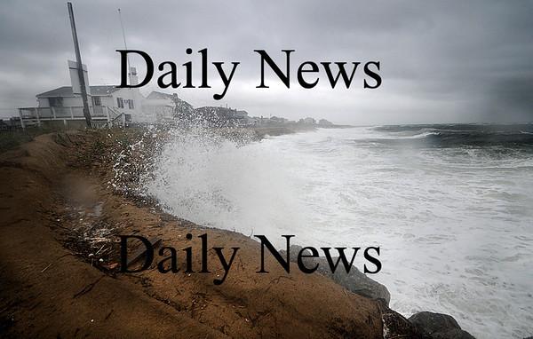 Newbury: Sunday storm batters Plum Island. Jim Vaiknoras/Staff photo