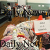 Newburyport: The Newburyport Mother Club Yard sale at the Kelley School Saturday. Jim Vaiknoras/Staff photo