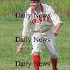 Newbury: John Tebow of the Ipswich Brewery team throws out a batter during their game against Essex Sunday at the Old Fashioned baseball Tripleheader at the Spencer Pierce Little Farm. Jim Vaiknoras/ Staff photo