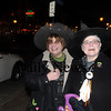 newburyport: Kristine Oxford and Barbara Coogan of Newburyport dressed as proper witches on State Street in Newburyport Friday night for Witches Night Out Jim Vaiknoras/Staff photo