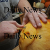Newburyport:Jeff Saunders of Newburyport carves a pumpkin.Jim Vaiknoras/Staff photo