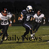 Byfield: Triton's Derek Paquette break into the open field during the Vikings home game against Witman-Hanson Friday night.Jim Vaiknoras/Staff photo