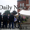 Amesbury:The casket containing the body of  Sgt. Jordan Shay is taken by a military honor guard into  St Joseph's Church in Amesbury  Saturday morning. Jim Vaiknoras/Staff photo