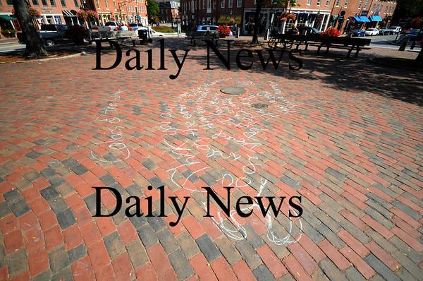 Newburyport: Poem written in Market Square in Newburyport. Jim Vaiknoras/Staff photo
