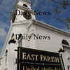 Salisbury: The East Parish Meetinghouse and United Methodist Church in Salisbury Square. Bryan Eaton/Staff Photo Newburyport News   Thursday September 17, 2009.