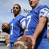 Georgetown: Georgetown quarterbacks Tyran Harrington, left, and Chris Esposito. Bryan Eaton/Staff Photo Newburyport News Thursday September 10, 2009.