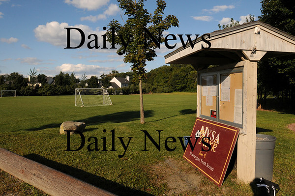 Newburyport: A new park will be added to the Cherry Hill housing development and soccer field. Bryan Eaton/Staff Photo Newburyport News Tuesday September 15, 2009.