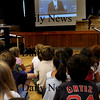 Newburyport: President Obama's speech to schoolchildren was shown to Bresnahan School second-graders on Thursday afternoon during assembly about the U.S. Constitution. Bryan Eaton/Staff Photo Newburyport News  Thursday September 24, 2009.
