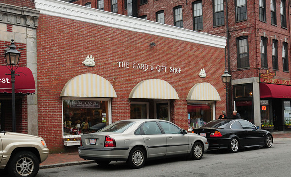 Newburyport: Newburyport's Card and Gift Shop on Pleasant Street is closing. Bryan Eaton/Staff Photo
