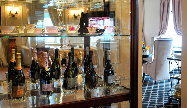 Newburyport: Champagne will be a featured component of new happenings at the Garrison Inn. Bryan Eaton/Staff Photo