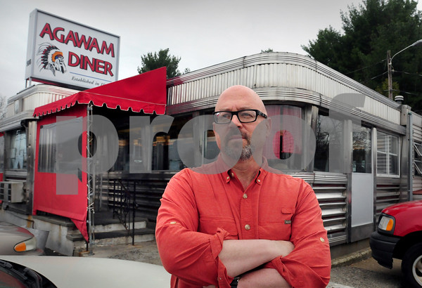 Rowley: Josh Faigan wrote a play set at the Agawam Diner in Rowley which will be presented in the Actor's Studio at the Tannery. Bryan Eaton/Staff Photo