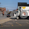 Newburyport: Harborside Catering truck has been parked in the lot of the former Fitness Factory. Bryan Eaton/Staff Photo