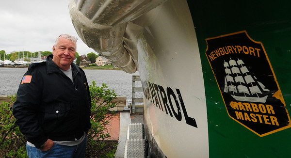 Newburyport: Long-time Newburyport Harbormaster Ralph Steele is retiring at the end of next week. Bryan Eaton/Staff Photo