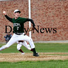 West Newbury: Pentucket pitcher Corey McNamara (2) delivers a pitch during the first inning of Monday's game against Newburyport. Photo by Ben Laing/Staff Photo