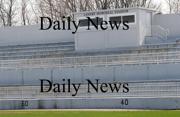 Amesbury: Landry Memorial Stadium in Amesbury. Jim Vaiknoras/Staff photo