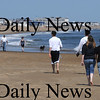 salisbury: people take advantage of the warm weather to hit Salisbury beach Sunday afternoon. Jim Vaiknoras/Staff photo