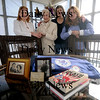 Newburyport;Robin Harvey Monico, her mother Ursula Harvey, and sisters Ramona Harvey Preston and Ronnie Harvey McKay  at teh home of Ramona in Newburyport. They are working to keep alive the memory of  the Bataan Death March. Jim Vaiknoras/Staff photo