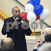 Newburyport: Governor Deval Patrick speaks at a campain stop at Nicholson Hall in Newburyport Saturday morning. Jim Vaiknoras/Staff photo
