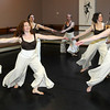 Newburyport: , Erin Foley, Jen Steeves, Darleen Doyle,Stephen Haley, Wendy Hamel, Ted Speck, and Sarah George during the  Exit Dance rehearsal<br /> for their spring production. Jim Vaiknoras/Staff photo