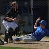 Georgetown:Georgetown's Dan Noelk slides safely home during the Royal's scrimmage against Marbehead at Georgetown Saturday. Jim Vaiknoras/Staff photo