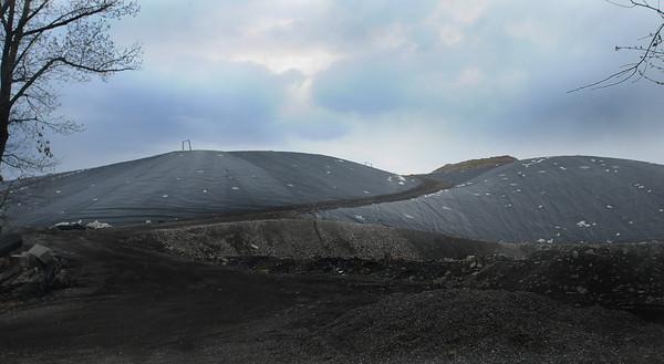 Newburyport: The Crow Lane landfill. Jim Vaiknoras/Staff photo