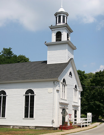 Amesbury: The United Church of Christ on Main Street in Amesbury's Point Shore neighborhood. Photo by Ben Laing/Staff Photo