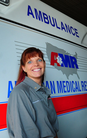 Newburyport: AMR paramedic supervisor Patricia Stolarz won a national award. Bryan Eaton/Staff Photo
