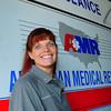Newburyport: AMR paramedic supervisor Patricia Stolarz won a national award. Bryan Eaton/Staff Photo