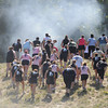Amesbury: Runners in the Spartan Race at Amesbury Sports Park in Amesbury make it to the top of the first hill Saturday. Jim Vaiknoras/Staff photo