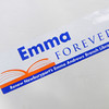 Newburyport: A bumber sticker supporting The Emma Andrews Library in Nwburyport. JIm Vaiknoras/Staff photo