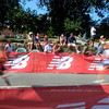 Newburyport: Runners sprint by spectators at  the High Street Mile . Jim Vaiknoras/Staff photo