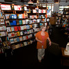 Newburyport: Sue Little at Jabberwocky in Newburyport. Jim Vaiknoras/Staff photo