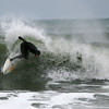 Seabrook: Surfers take advantage of the big waves at Seabrook Beach Wednesday afternoon, despite air temperatures in the 20's. Photo by Ben Laing/Staff Photo