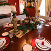 Newburyport: The holiday place setting is on display for this Saturday's Holiday House Tour at 343 High Street. Photo by Ben Laing/Staff Photo