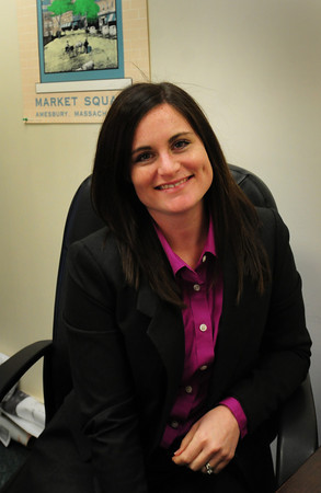 Salisbury: Mayor Kezer's new chief of staff, Jennifer Yim. Bryan Eaton/Staff Photo
