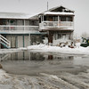 Salisbury: The Driftwood Motel at Salisbury Beach was evacuated due to water in the lower units. Bryan Eaton/Staff Photo