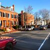 Newburyport: High Street in Newburyport looking toward Newbury in a view from the Bartlet Mall. Bryan Eaton/Staff Photo