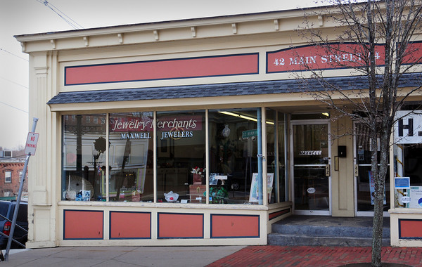 Amesbury: Maxell's Jewelers in downtown Amesbury is closing after more than 50 years in business. Bryan Eaton/Staff Photo