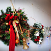 Newburyport: Wreaths at the Custom House Maritime Museum up for auction. Bryan Eaton/Staff Photo