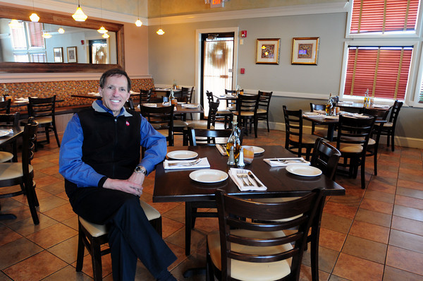 Salisbury: Wayne Capolupo is looking to allow patrons to bring thier dogs into this section of his Capri Italian Restaurant at Salisbury Beach. Certain guidelines would apply to the practice, which is widely accepted in parts of Europe. Bryan Eaton/Staff Photo