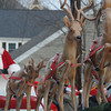 Merrimac: Santa arrives at the annual Merrimac Santa Parade. Jim Vaiknoras/Staff photo