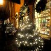 Newburyport: The Brass Lyon on Inn Street is lite up for the holiday. Jim vaiknoras/Staff photo