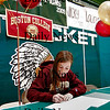 West Newbury: On Wednesday, Alanna Poretta of Pentucket signs her letter of intent to attend Boston College in the fall. Poretta is a track and cross-country star for the Sachems. Photo by Ben Laing/Staff Photo