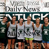 West Newbury: The seniors on this year's Pentucket girls basketball team, from left, Abby Stephenson, Ashley Viselli, Erin McNamara, Holly Jakobsons, Emily Lane and Jessica Gaton. Photo by Ben Laing/Staff Photo