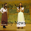 "Georgetown: Melissa Ruh, left, as Laurie and Casey Gasinowski as Ado Annie in dress rehearsal of the Georgetown High production of ""Oklahoma."" Bryan Eaton/Staff Photo"